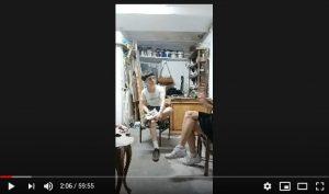 Silvia Flechos y Marta Plasencia en el estudio de Madrid Argüelles